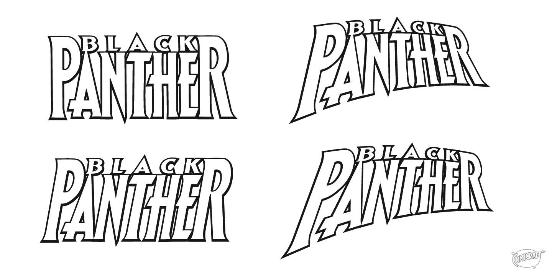 How I Designed The Black Panther Logo