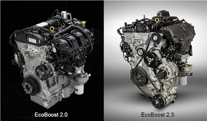 New TwinScroll 20liter EcoBoost and 23liter EcoBoost Engines