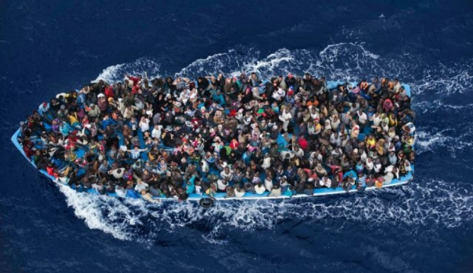 Image result for 70 migrants rescued and taken to Lampedusa