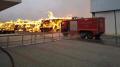 حريق مصنع بالنفيضة: النيابة العمومية على الخط