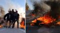 المتلوي: محتجّون يغلقون الطريق الرابطة بين توزر وتونس