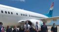 مطار النفيضة يستقبل أول رحلة من اللوكسمبورغ على متنها 149 مسافرا