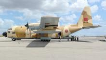 وصول طائرة عسكرية مغربية محملة بمعدات طبية