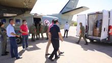 قفصة: وصول معدات طبية على متن طائرتين عسكريتين