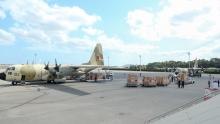 وصول 4 طائرات عسكرية مغربية محملة بتجهيزات طبيّة