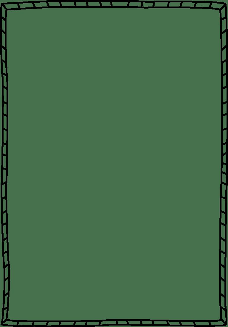 striped double border free