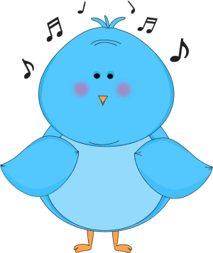 Singing Blue Bird