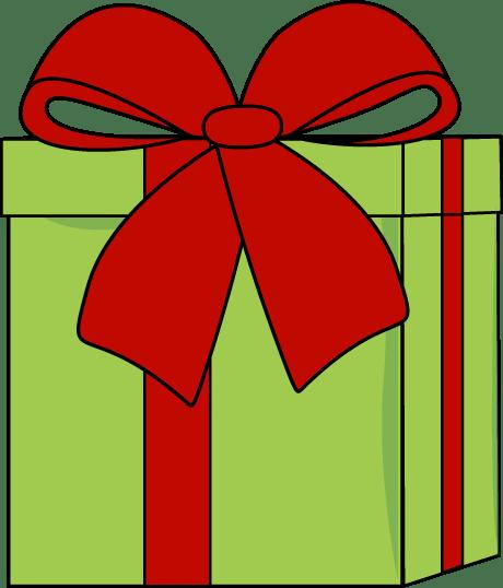 Christmas Gift with a Big Bow
