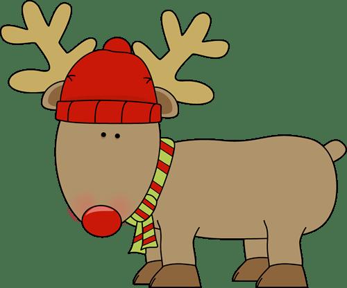 holiday reindeer clip art