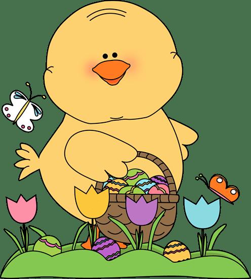 chick easter egg hunt clip