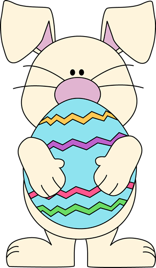 easter bunny painting