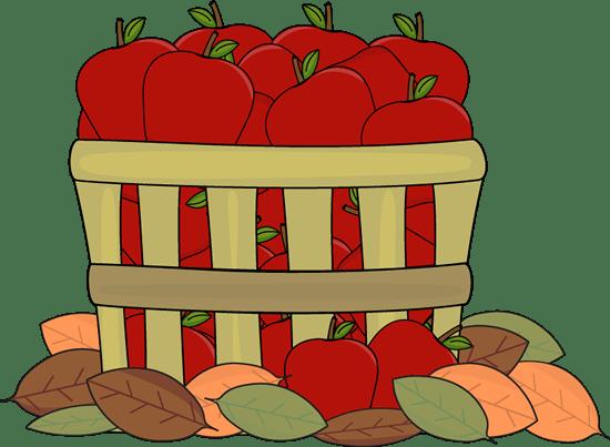 autumn apples clip art