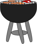 grill clip clipart grilling food graphics transparent steak dogs mycutegraphics meat cliparts library