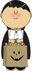 halloween vampire clip clipart cute costume boy dracula graphics mycutegraphics cliparts dressed candy costumes theme cartoon october bag witch fall