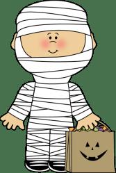 mummy halloween clipart clip boy cliparts candy graphics theme cute costume bag haloween teacher classroom ideer clipartandscrap clipartpost library kunst