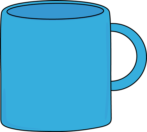 cups mugs and glasses clip art