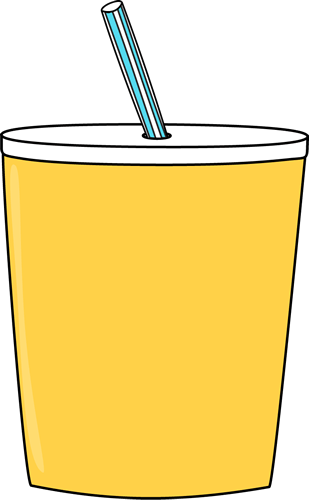 yellow cup clip art