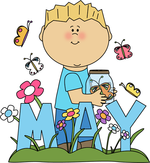 month of spring clip art