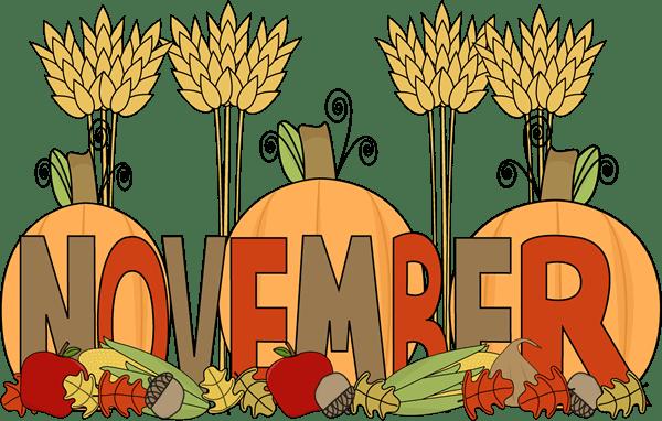 month of november harvest clip