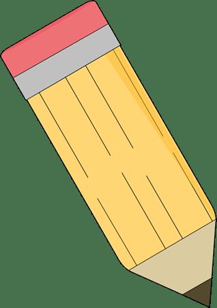 school pencil clip art cliparts