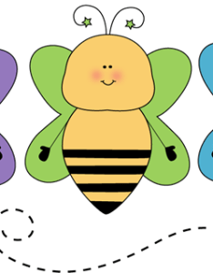 Bee line leader clip art also classroom job images vector rh mycutegraphics