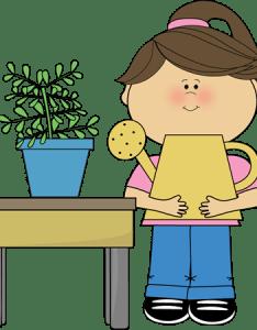 Classroom plant helper clip art also job images vector rh mycutegraphics