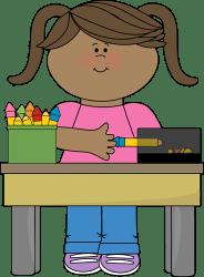 clip pencil clipart desk monitor classroom sharpening table pencils job sharpened jobs student cartoon sharpener sharpen helper class cliparts graphics