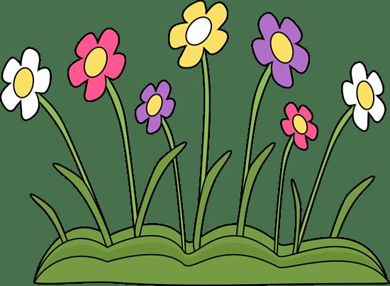 Spring Flower Patch Clip Art