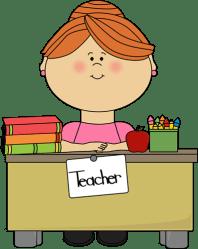 teacher clip clipart hair cute teachers transparent desk teaching sitting cliparts library graphics behind aid vector help clipartpanda clipground appreciation