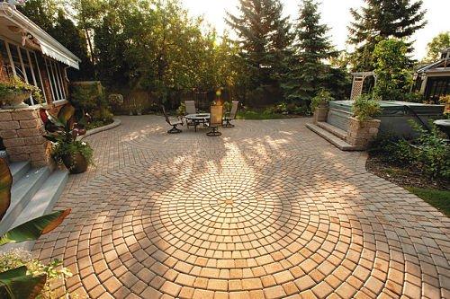 12 outdoor patio flooring ideas to add
