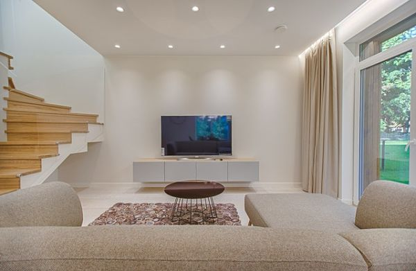 recessed lighting layouts for living rooms