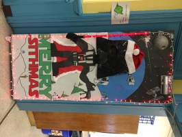 Christmas Door Decorating Ideas For Elementary School ...