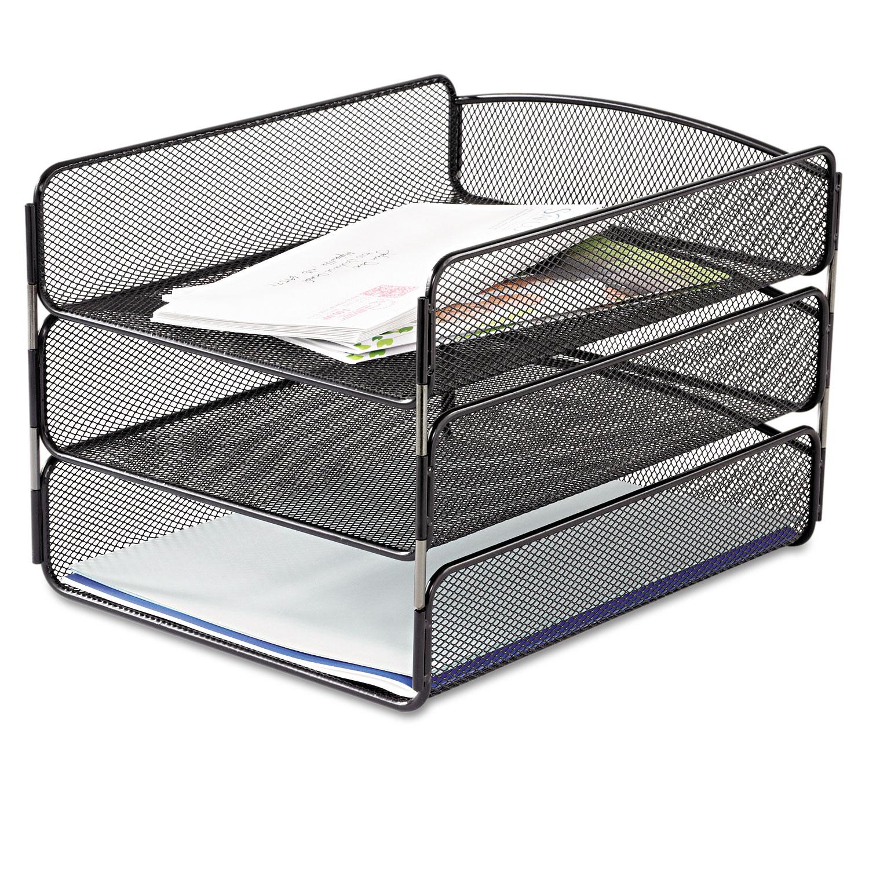 Desk Tray by Safco SAF3271BL  OnTimeSuppliescom