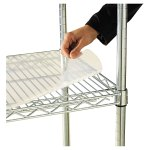 Shelf Liners For Wire Shelving Clear Plastic 36w X 24d 4