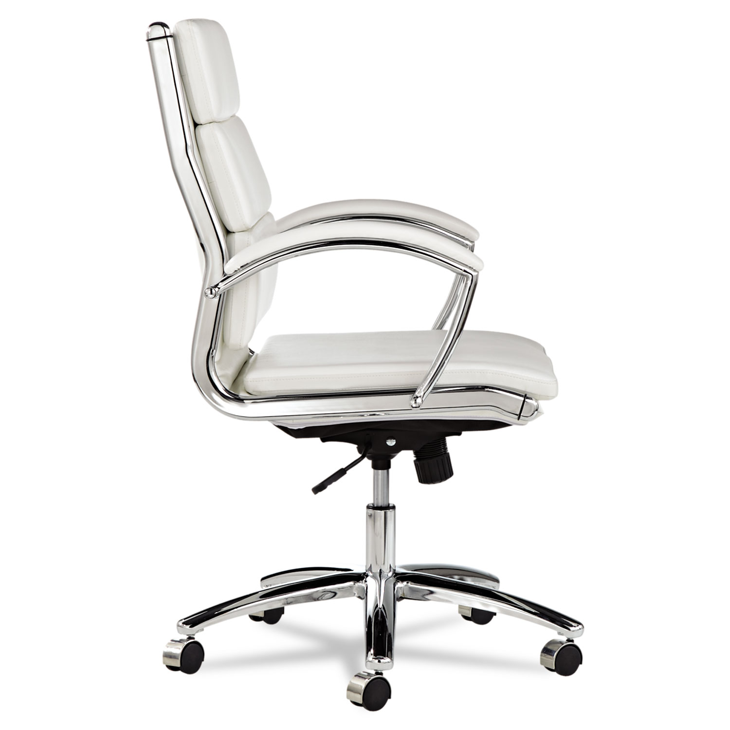 alera office chairs aluminum for sale neratoli mid back slim profile chair by alenr4206 thumbnail 1 2