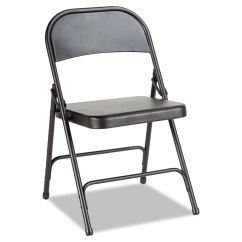 Steel Chair For Office Modern Living Room Chairs Folding With Two Brace Support By Alera Alefc94b Thumbnail 1