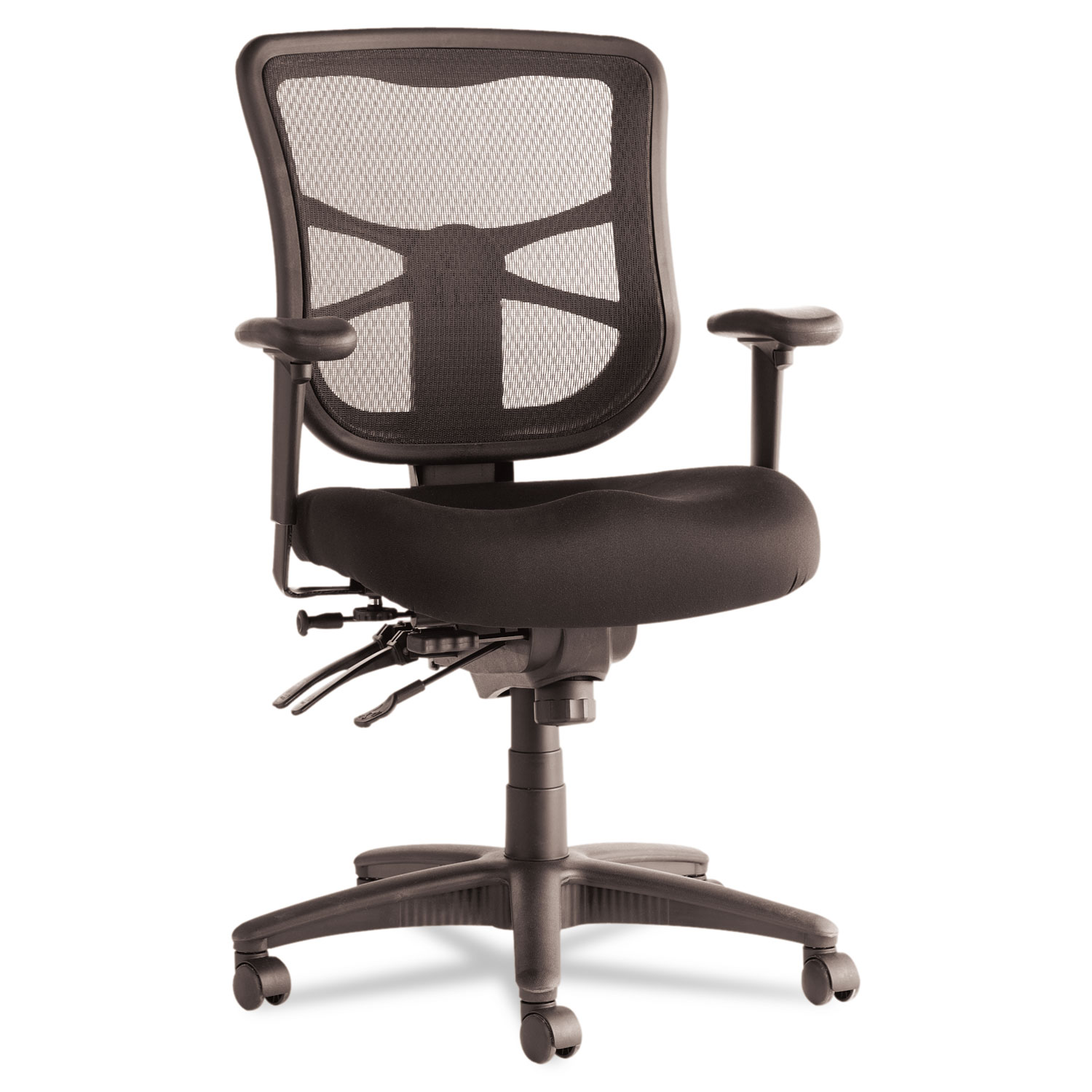 alera office chairs review teknion chair see the elusion series mesh mid back multifunction