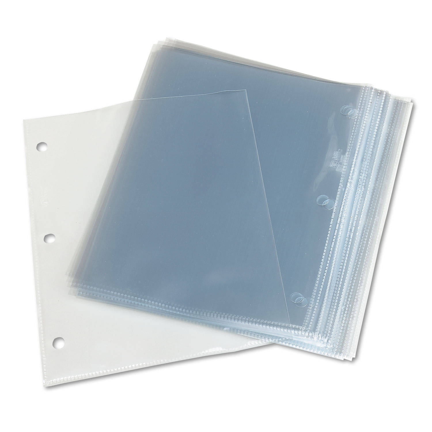 TopLoad Poly 3Hole Punched Sheet Protectors by Avery