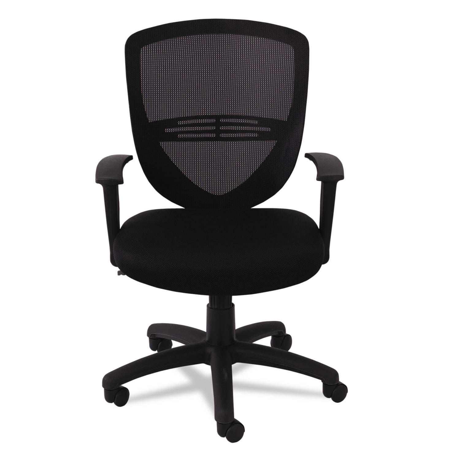 office chair vs stool double x back dining chairs swivel tilt mesh mid task by oif oifvs4717