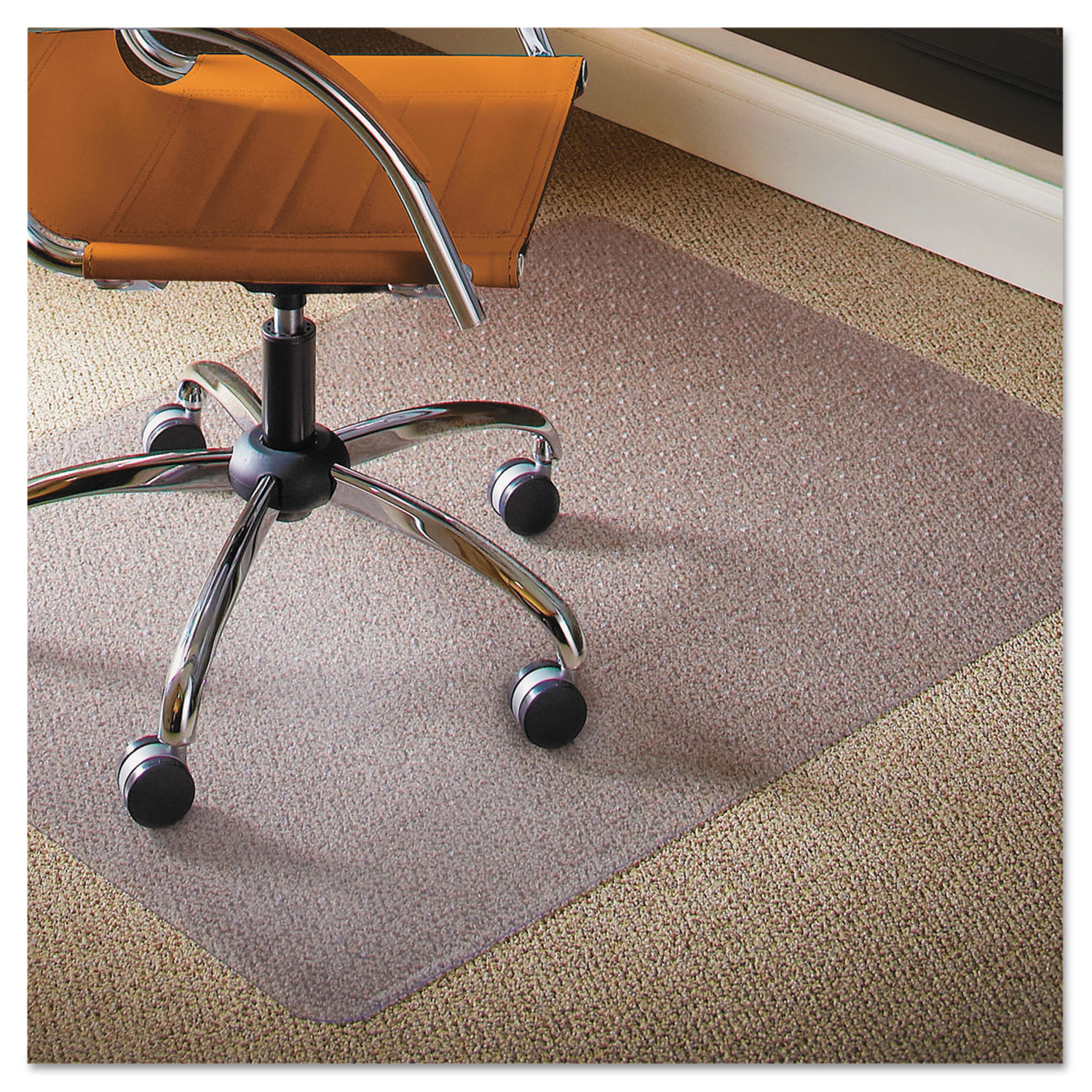 office chair mat 45 x 60 covers craft ideas natural origins for carpet by es robbins