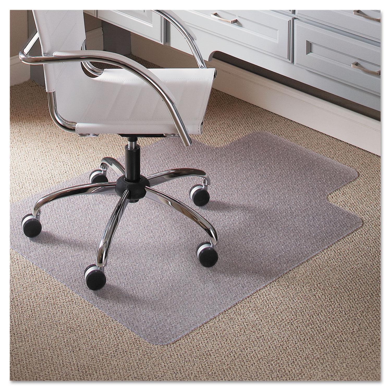 office chair mat 45 x 60 shop steel 36 48 lip by es robbins esr120023