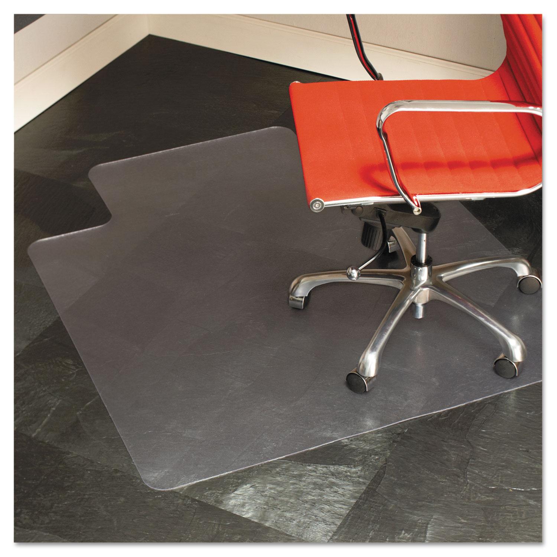 office chair mat 45 x 53 lounge cushions sunbrella 45x53 lip by es robbins esr132123
