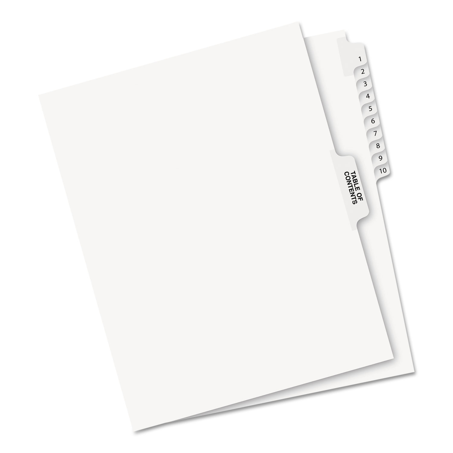 AVE11381 Avery Avery-Style Legal Exhibit Side Tab Divider