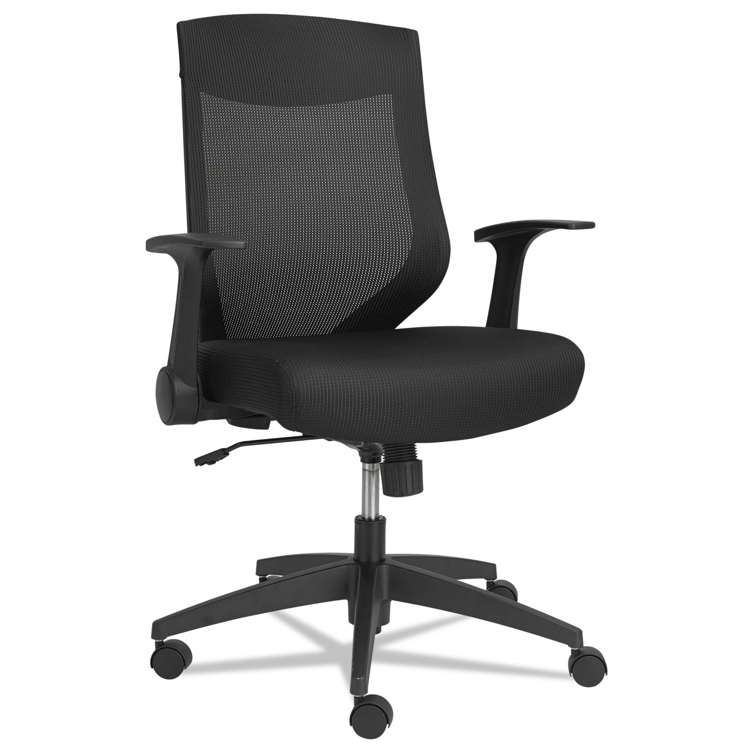 Alera Chair Alera Eb K Series Synchro Mid Back Mesh Chair By Alera