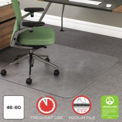 Office Chair Mat 45 X 60 Pub Table With Chairs Rollamat Frequent Use By Deflecto Defcm15443f