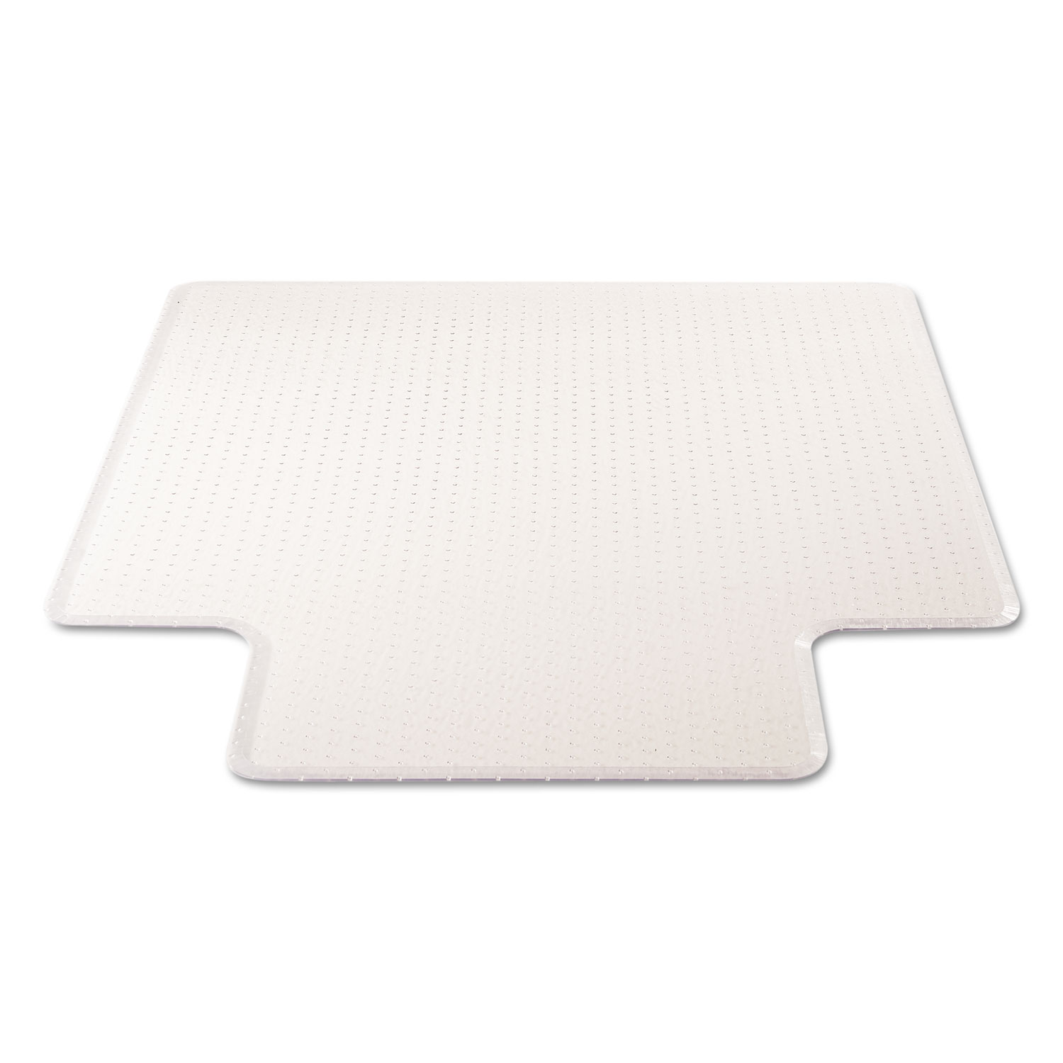 office chair mat 45 x 60 white wooden ikea execumat intense all day use for high pile carpet by deflecto® defcm17233 ...
