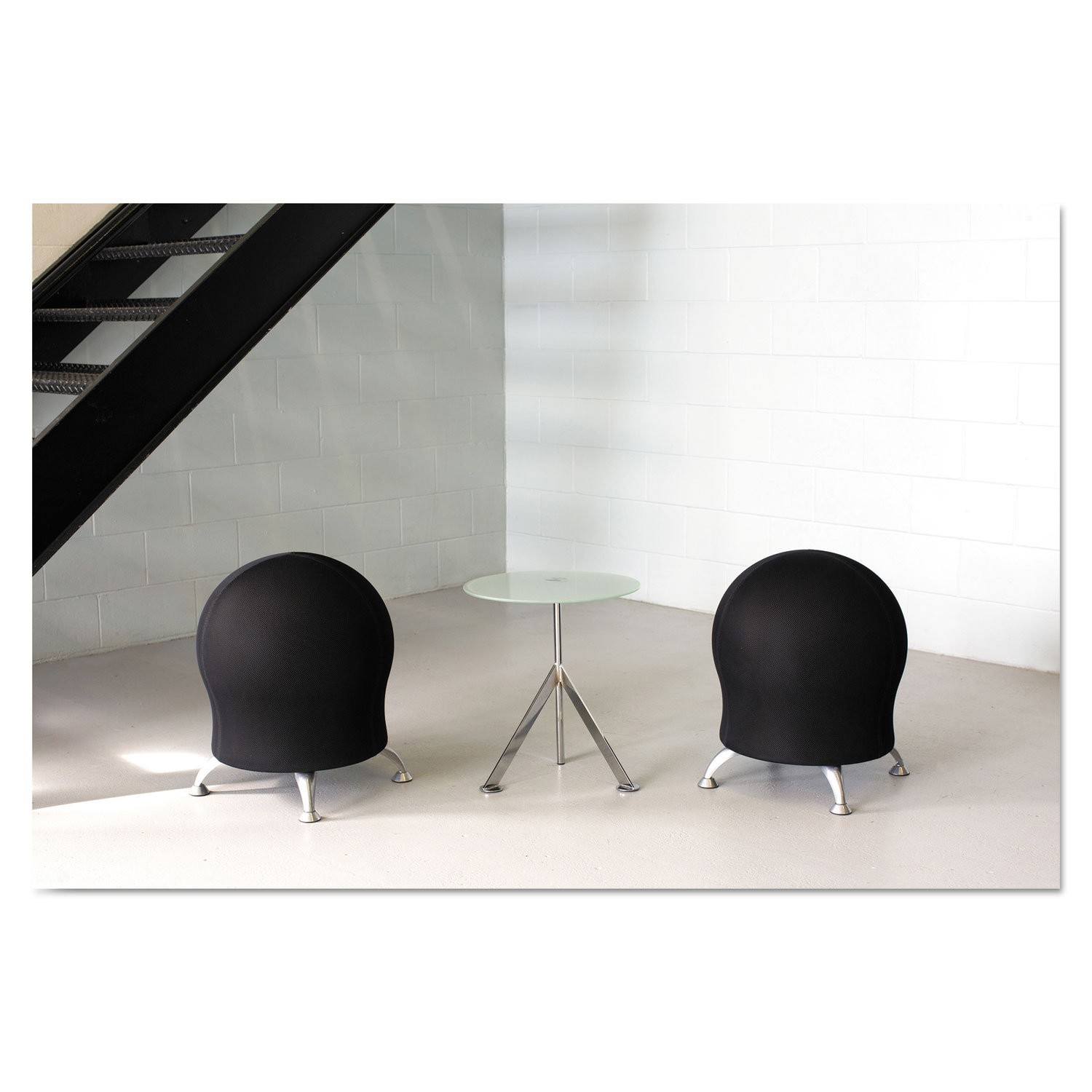 Safco Zenergy Ball Chair Zenergy Ball Chair By Safco Saf4750bl Ontimesupplies