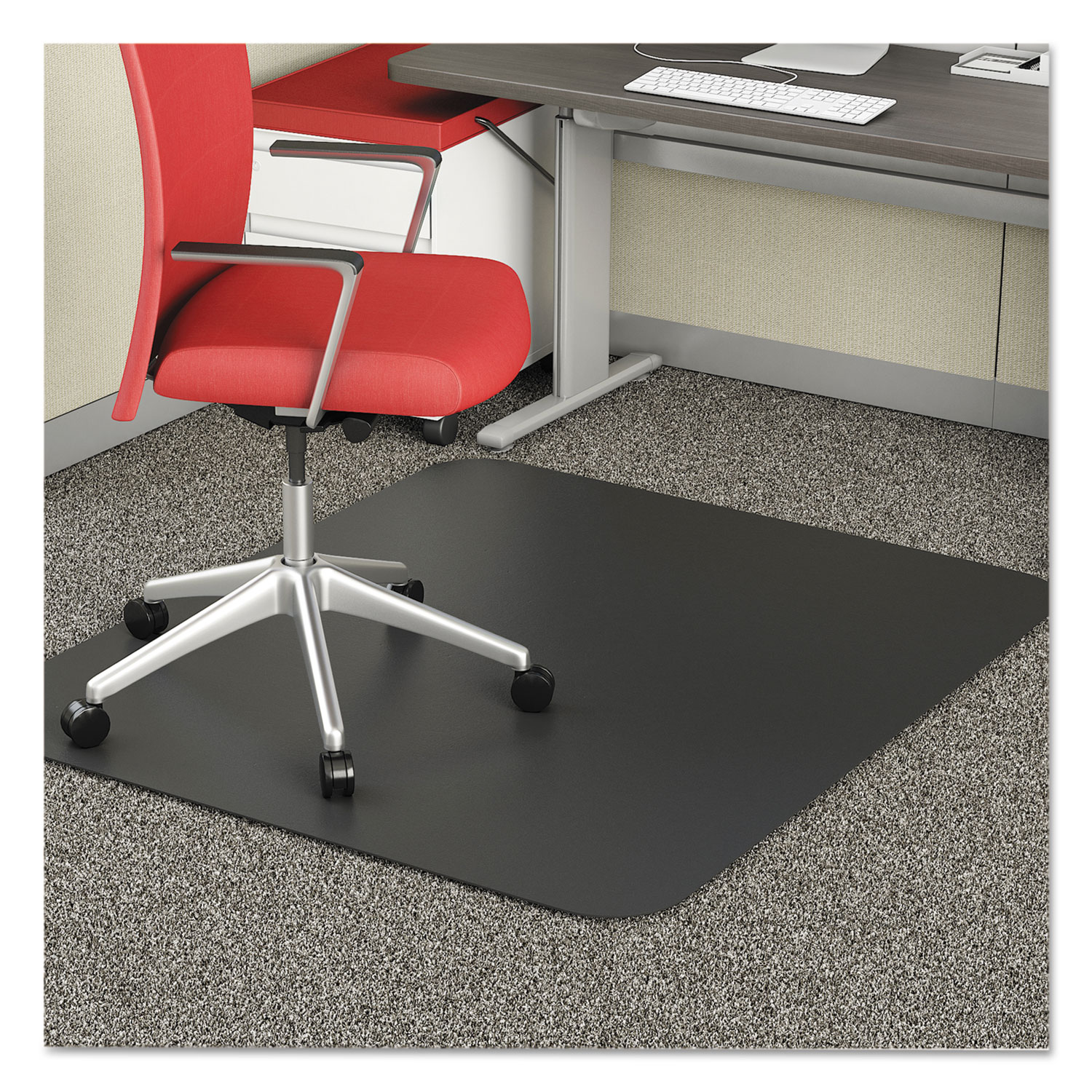 office chair mat 36 x 60 hot pink spandex covers economat occasional use for low pile by deflecto