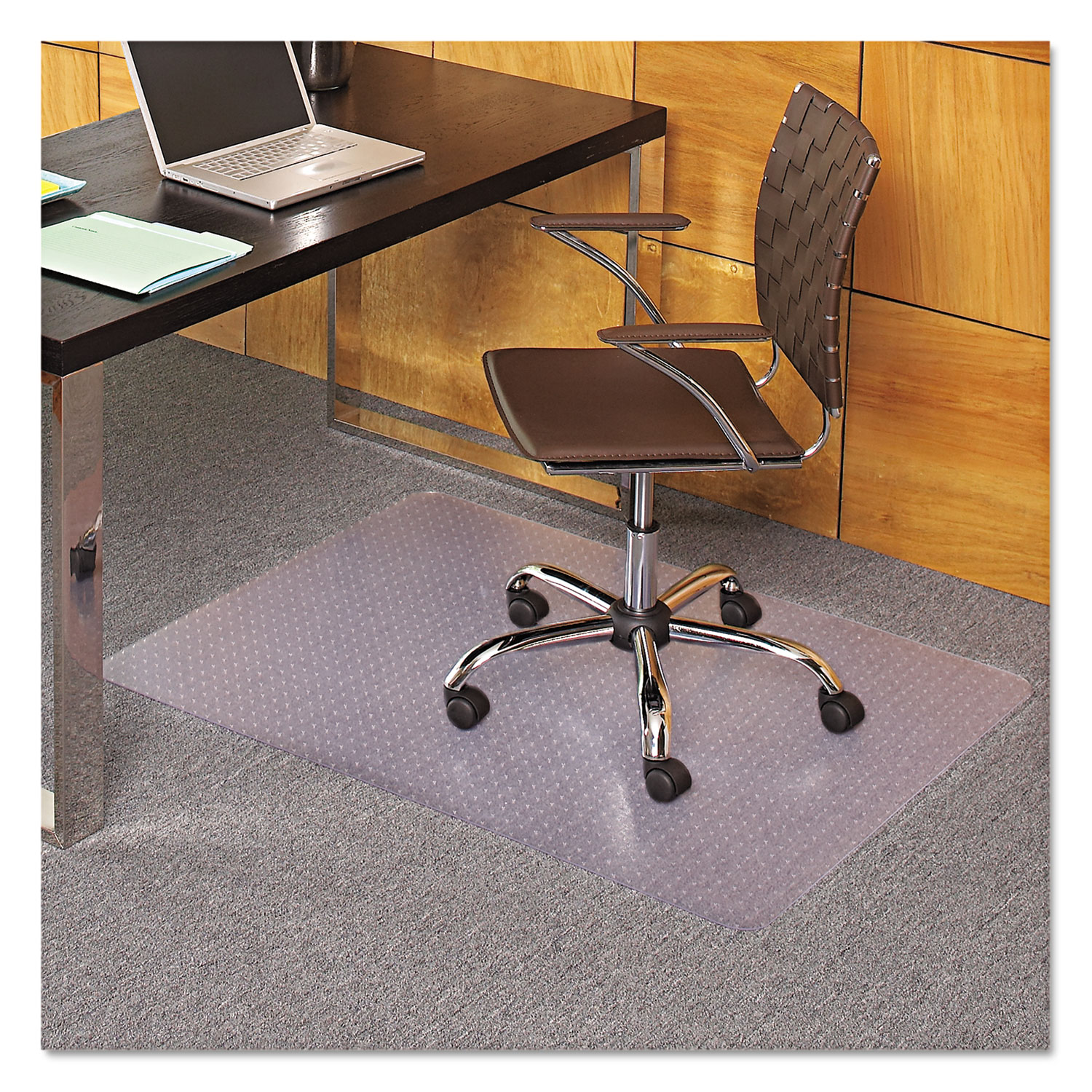 EverLife Chair Mats For Medium Pile Carpet by ES Robbins
