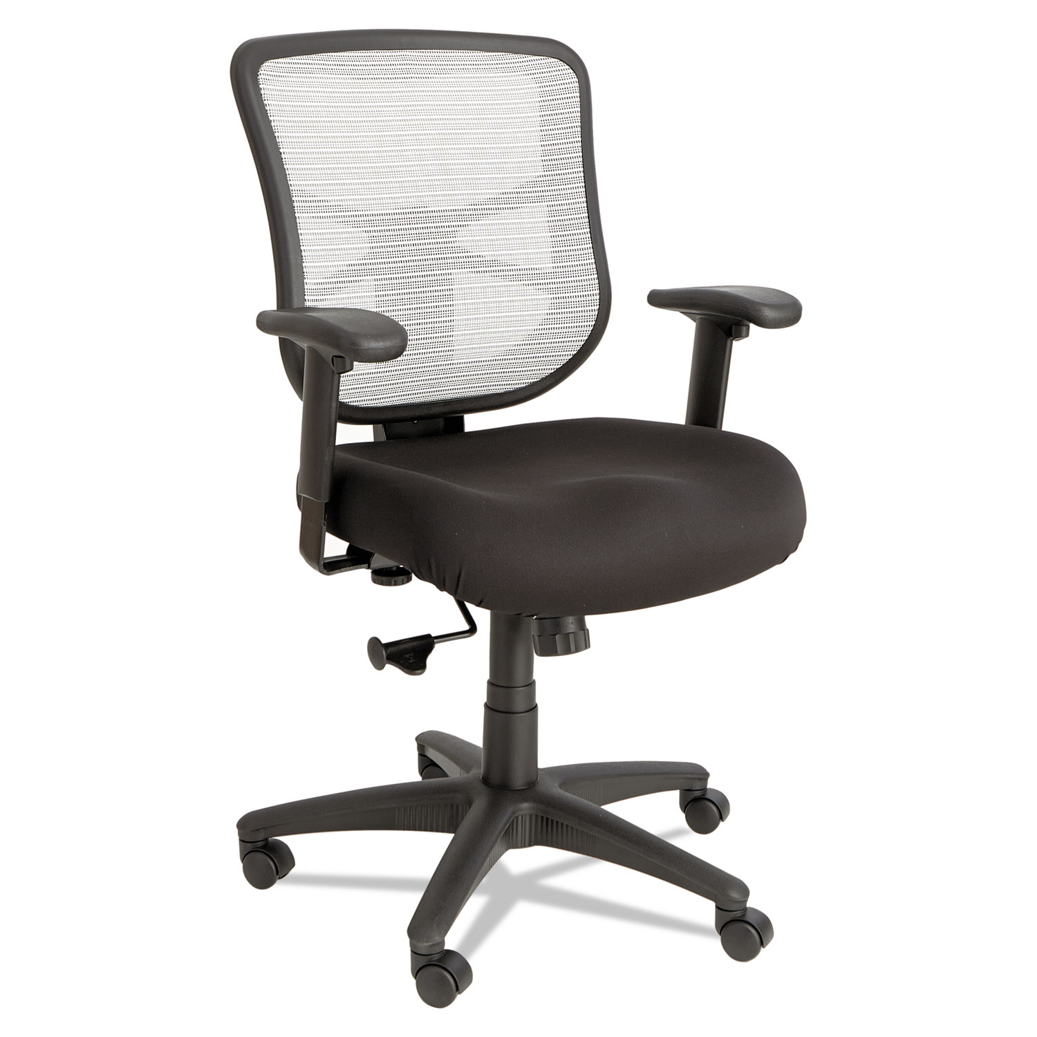 Back Supports For Chairs Alera Elusion Series Mesh Mid Back Swivel Tilt Chair Supports Up To 275 Lbs Black Seat White Back Black Base